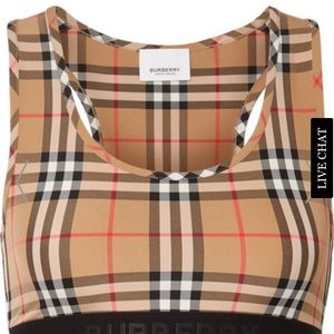 Burberry Top and Bottom